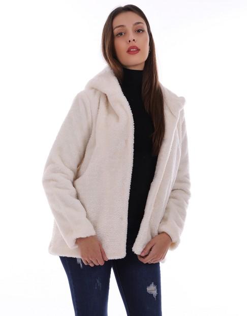 Manteau avec fourrure
