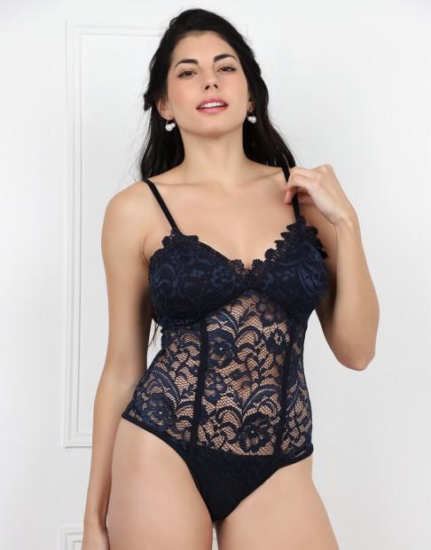 Body sexy en dentelle