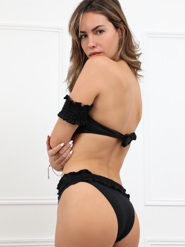 Ensemble bikini avec bretelles amovibles