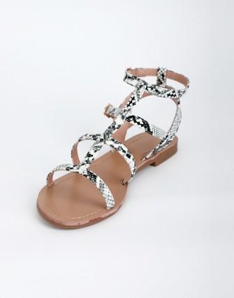 Sandales spartiates - Blanc