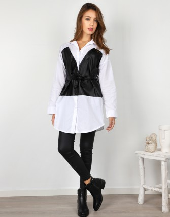Chemise avec corset