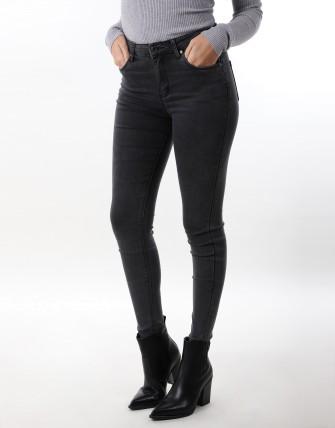 Jeans slim - Gris fonce