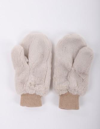 Gants hiver femme-BEIGE-TU