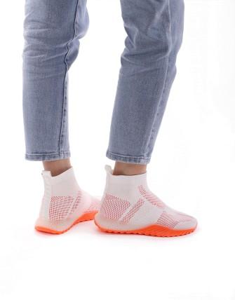 Sneaker montante - Blanc