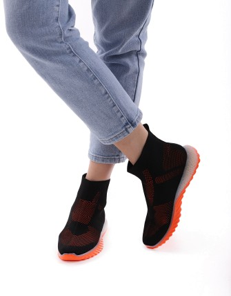 Sneaker montante - Noir