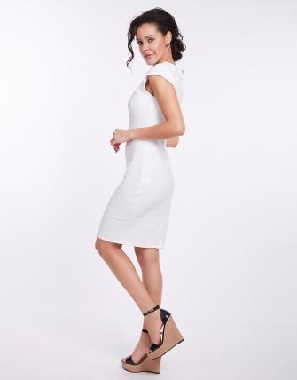 Robe moulante - Blanc