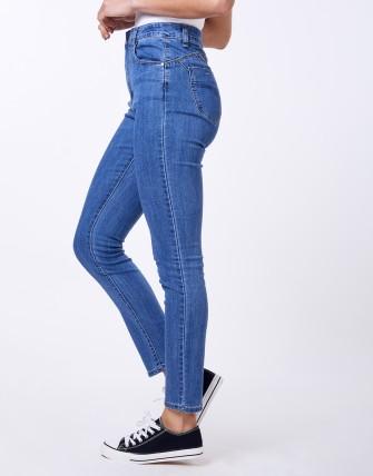 Jean slim push-up