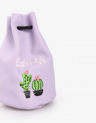 Porte - Monnaie - Violet/cactus