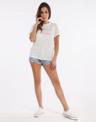 T-shirt lettre AMOUR