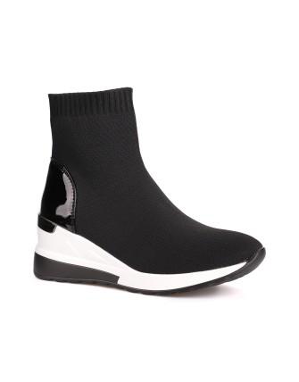 Bottines chaussettes