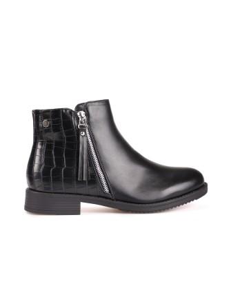 Boots bi - Matière - Noir