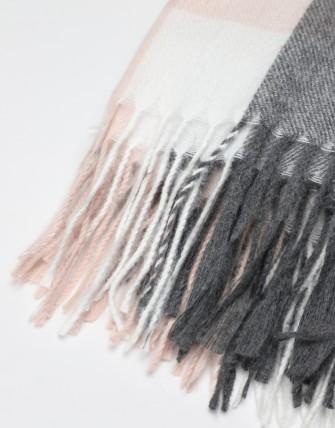 Écharpe à carreaux