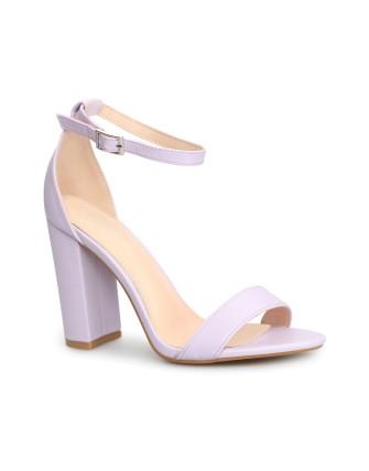 Sandales en simili cuir