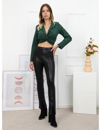 Veste courte avec nœud
