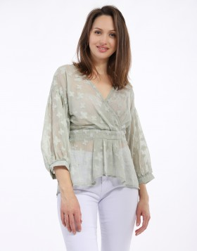 BLOUSE Transparent  Col V